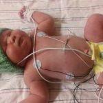 Foto: O femeie a născut o fetiță de 7 kg