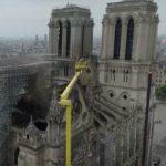 Foto: Video! Imagini surprinse cu drona de la Catedrala Notre Drame. Ce-a mai rămas din ea!