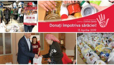 Donează împotriva sărăciei și oferă o mână de ajutor bătrânilor singuratici și persoanelor nevoiașe
