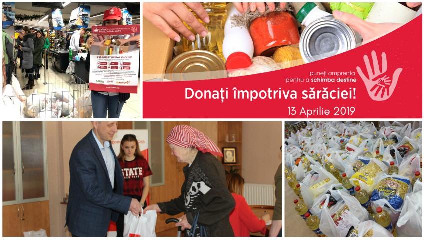 Foto: Donează împotriva sărăciei și oferă o mână de ajutor bătrânilor singuratici și persoanelor nevoiașe