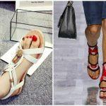 Foto: Ce modele de sandale se poartă în vara 2019?