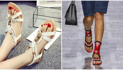 Ce modele de sandale se poartă în vara 2019?