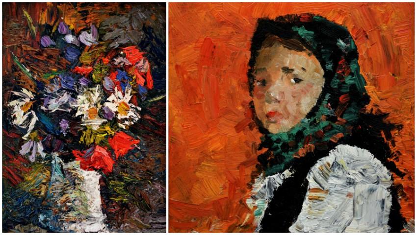 """Foto: O expoziție de pictură a elevilor Liceului Academic de Arte Plastice ,,Igor Vieru"""" a fost inaugurată în Finlanda"""