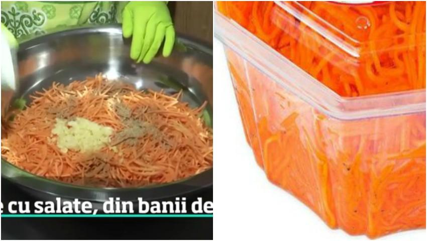 Foto: Și-a dezvoltat o adevărată afacere peste Prut! Un moldovean i-a cucerit pe români cu salata marinată de morcovi