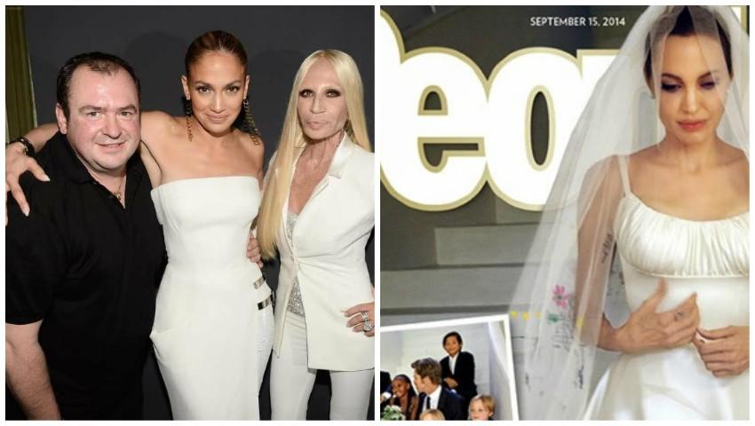Foto: Celebrul designer care a creat rochia de mireasă a Angelinei Jolie, s-a stins din viață