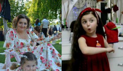 Fiica actorilor Aliona Triboi și Ghenadie Gâlcă este o mică artistă. Uite cum recită poezii!