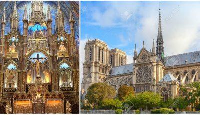 Imagini din interiorul Catedralei Notre-Dame din Paris. Cum arăta până la incendiul devastator!