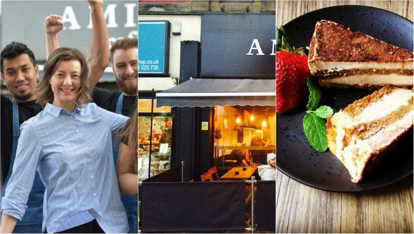 Foto: Cafeneaua unei moldovence a devenit una dintre cele mai populare din Manchester