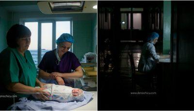 24 de ore din viața unui medic obstetrician-ginecolog din Moldova, prin obiectivul unui fotograf de la noi!