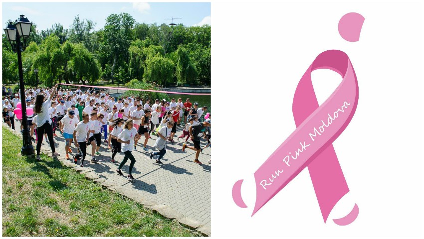 Foto: Run Pink Orhei te invită la cursa de alergat, în susținerea femeilor din Moldova care luptă cu cancerul mamar!
