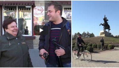 Aventurile unui vlogger italian care a vizitat Transnistria. Video
