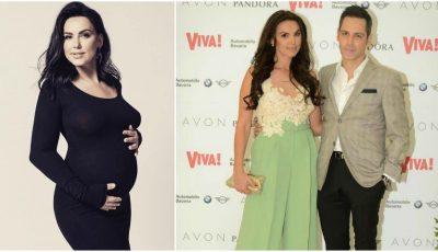 Lavinia Pîrva, însărcinată în 7 luni, și-a făcut o schimbare de look. Ce sex are abebelușul?
