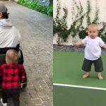 Foto: Un filmuleț cu gemenii lui Enrique Iglesias a devenit virat pe internet
