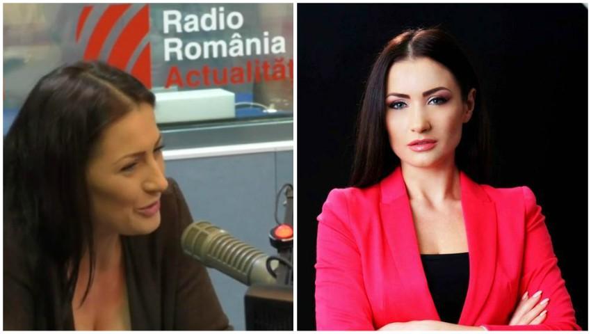 """Foto: Stela Popa la Radio România: Sunt generația """"țopârlanilor"""" care au """"invadat"""" Chișinăul"""