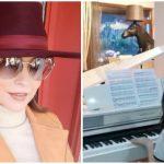 Foto: Video! Imagini rare cu fiica Andreei Marin! Violeta cântă impecabil la pian