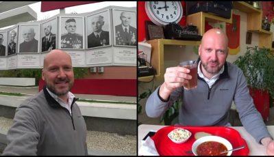"""Vloggerul englez a vizitat Transnistria. Ce le-a povestit prietenilor săi despre ,,țara care nu există pe hartă""""?"""