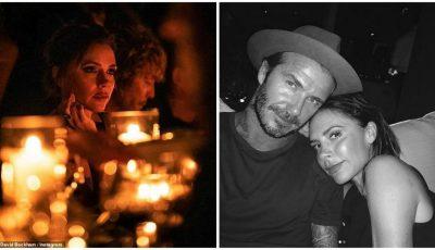 Victoria Beckham, răsfăţată de David de ziua ei! Declaraţia romantică
