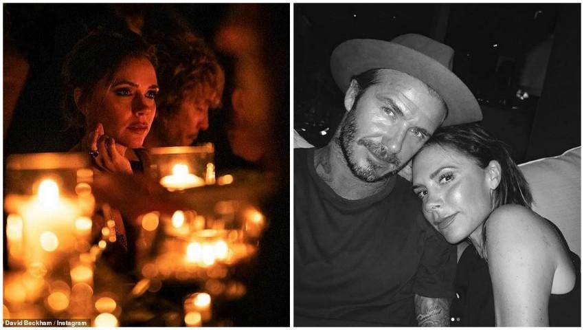 Foto: Victoria Beckham, răsfăţată de David de ziua ei! Declaraţia romantică