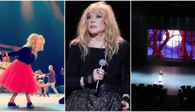 Video! Imagini inedite de la concertul aniversar al Allei Pugacheva