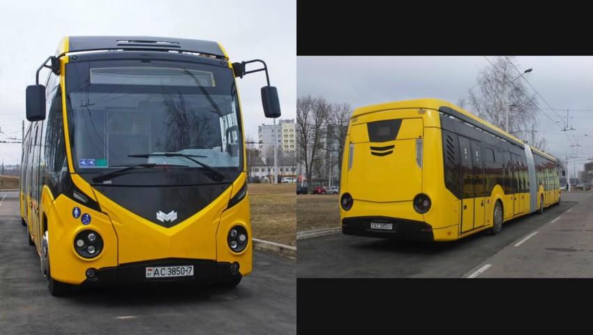 Foto: Aceste troleibuze vor circula pe străzile din Chișinău. Foto