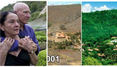 Doi soți au plantat peste 4 milioane de copaci, timp de 20 de ani, și au făcut ca toate animalele să se întoarcă în pădure