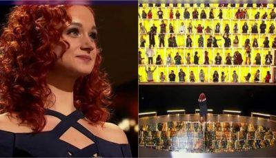 """O moldoveancă a ridicat în picioare 100 de artiști, la show-ul """"Canta acum cu mine"""""""