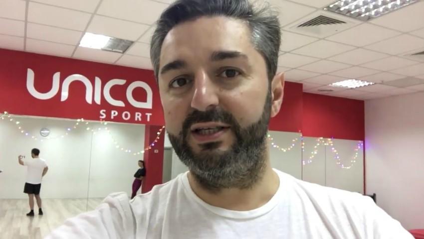 Foto: Video. Vezi cum arde caloriile interpretul Adrian Ursu!