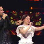 """Foto: Dan Bălan și concurenta din echipa sa, Oxana Muha, sunt câștigătorii sezonului 9 ,,Vocea Ucrainei""""! Video"""