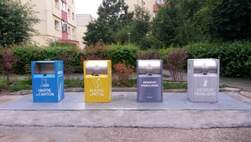 Foto: În Chișinău vor fi montate platforme subterane de evacuare a deșeurilor