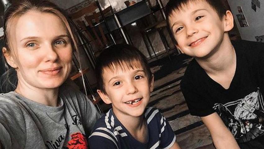 Foto: Fiul Olgăi Manciu a fost operat. Cum se simte Damian?