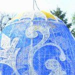 Foto: Decorațiuni de Paște în Scuarul Catedralei! Cum arată centrul Capitalei