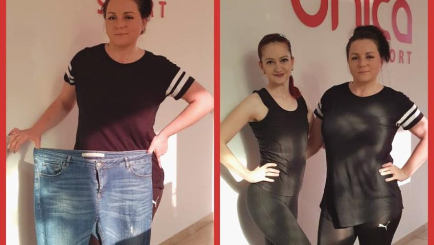 Foto: Natalia a slăbit 12 kg în 6 luni și este mândră de rezultatul obținut!