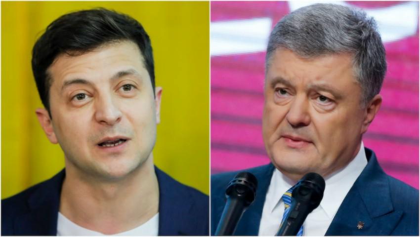 Foto: Peste 71 la sută din ucrainenii stabiliți în Moldova au votat pentru Vladimir Zelenski, la alegerile prezidențiale