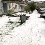 Foto: Grindina a făcut ravagii în România. Imagini de coșmar