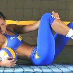 Foto: Imagini senzaționale cu Jaqueline Carvalho, una dintre cele mai sexy voleibaliste din lume