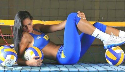 Imagini senzaționale cu Jaqueline Carvalho, una dintre cele mai sexy voleibaliste din lume