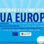 Foto: La Chișinău, va fi sărbătorită Ziua Europei!