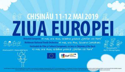 La Chișinău, va fi sărbătorită Ziua Europei!