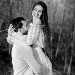 Foto: Nina Crețu a îmbrăcat rochia de mireasă!