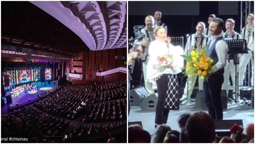 Foto: Video. Moment emoționant pentru Adrian Ursu la concertul Andrei!
