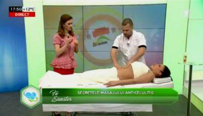 Tot ce trebuie să știi despre masajul anticelulitic