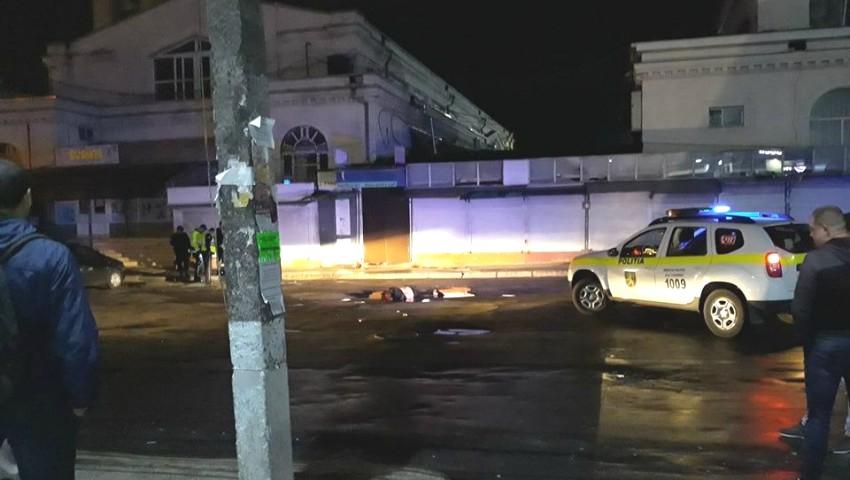 Foto: Tragedie la Autogara Centrală. O femeie a fost călcată de un autobuz