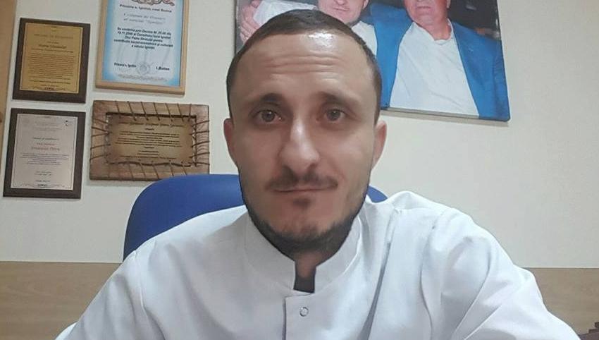 Foto: Neonatologul Mihai Stratulat revine la activitatea sa medicală