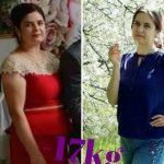 Foto: A slăbit 17 kg timp de 10 săptămâni! Află aici cum s-a schimbat viața unei moldovence