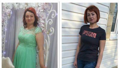 Grație și frumusețe a obținut Stela Cuzub după ce a slăbit 16 kg