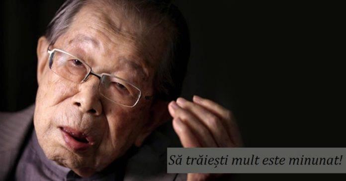 Foto: Sfaturi înțelepte de la un medic japonez în vârstă de 105 ani!