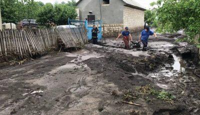 Ploile au făcut ravagii, la Șoldănești