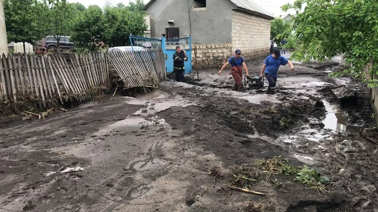 Foto: Ploile au făcut ravagii, la Șoldănești