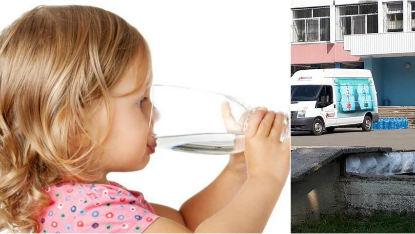 Foto: Doleanța unui părinte: De ce nu le sunt livrate și copiilor din grădinițe sticluțe cu apă, din bani publici?