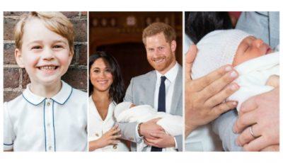 Prințul George a dezvăluit numele verișorului său, încă acum trei luni!